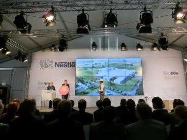 Grundsteinlegung Nestle